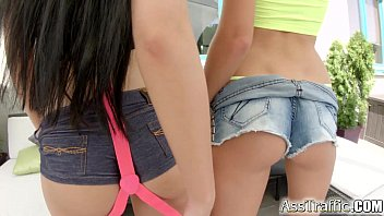 arse traffic buttfuck duo get donk ravaged gaped.