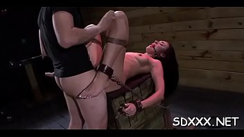 guy enslaves immense jugged hoe and demonstrates her.