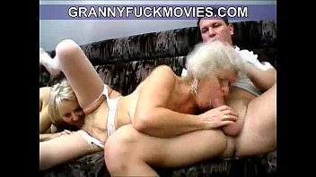 horny supah-naughty fledgling grandmother blows youthfull