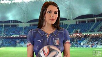 sexi italian stunner world cup -.