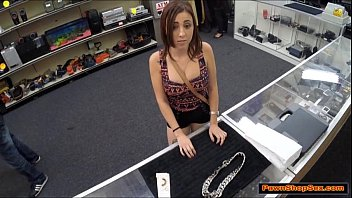 giant-boobed nubile trades suck off for.