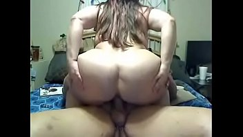 plus-size wifey railing her immense enormous backside until.