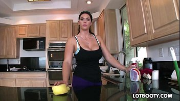 xxl bum ebony-haired chesty maid alison tyler gets.