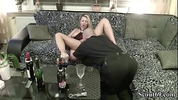 blondie cougar inebriated with wine more at jungleofsex com