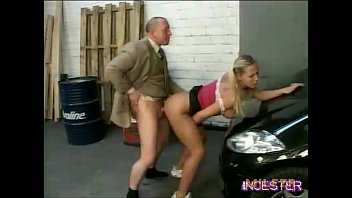 father humped crimson-hot stepdaughter in garage
