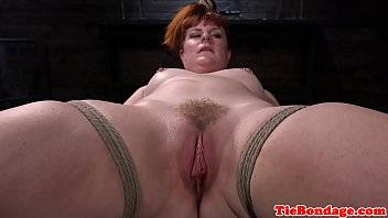 plump sandy-haired marionette gets lashed by.