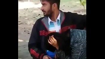 duo caught on camera having joy in public park