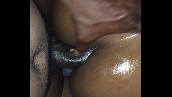 pretty bum greased ebony rectal
