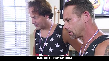 daughterswap - stepdaughters lose bet and.