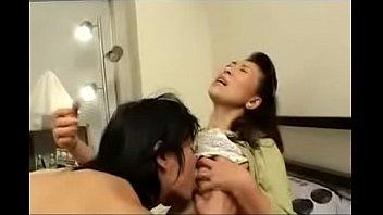 youthful boy porks japanese mature mother - observe.