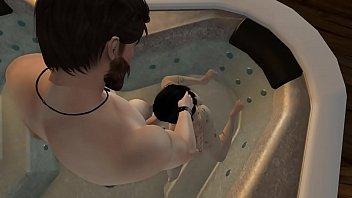 2nd life - jade doet - sizzling bathtub.
