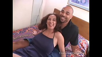 senior mommy luvs deep throating a huge ebony.