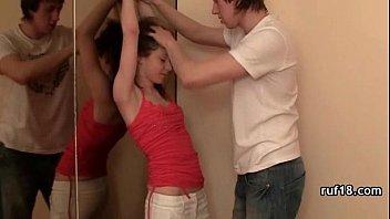 real teenage dame getting her sweet cunt banged rigid