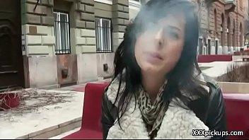 czech unexperienced mega-bitch pummel tourist in public for.