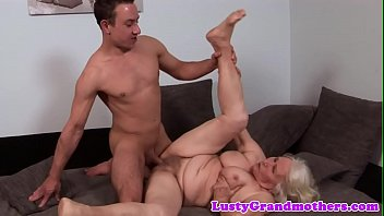 hugetits grandmother enjoys getting nailed