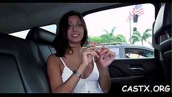 hottie goes unholy at a casting and gives.