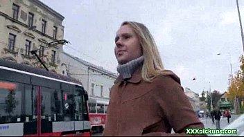 public pickup euro damsel gives head in public 35