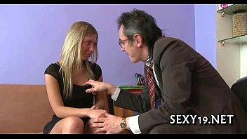 tricky professor seducing student
