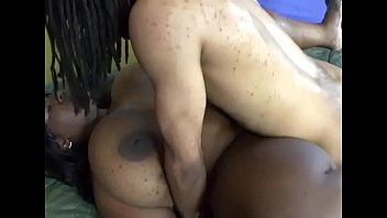 gigantic dark-hued bosoms deepthroats it with.