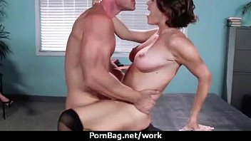 office fucky-fucky with buxom nymphs at.