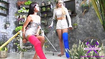 fetish-conceptcom - 2 chicks with lengthy cast gam.