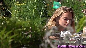 luxurious micro g-string supah-plowing-hot blond teenager covert webcam.