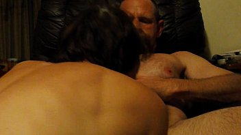 first-ever-timer wifey deepthroats husband039_s xxl manmeat in his stool