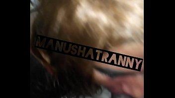 indian crossdresser mega-slut manusha t-girl providing a prompt oral