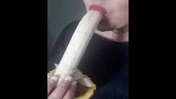 my trademark banana suck with a.