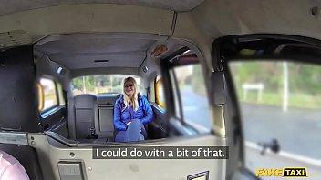 faux cab ash-blonde gets backseat discount
