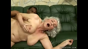 interracial grandma plumb