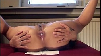 anal penetration inward ejaculation with japanese