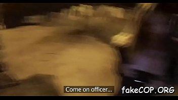 boy predominates faux cop during bang-out