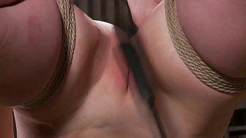 tied like a hog victim gets gash cropped.