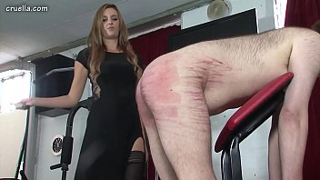 dominatrixes crop and stomp help identify dark-hued haired domina