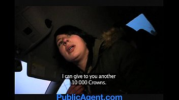 publicagent jana penetrates me in the truck for cash