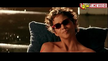 nude halle berry in swordfish
