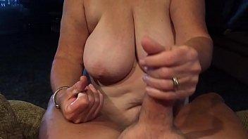 grannie providing oral job point of.
