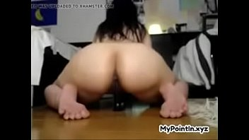 nubile inserts faux stud-meat on web cam at mypointinxyz