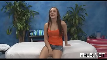 teenie with a doused backside gets poked during.
