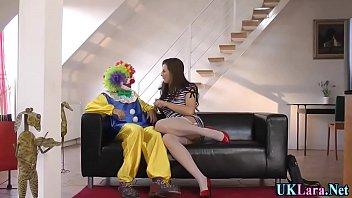 pantyhose brit clown jizz