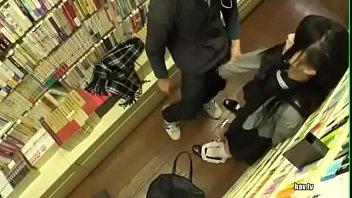 japonesa violada en libreria
