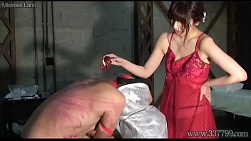 japanese domme asami caning and warm candle paraffin wax
