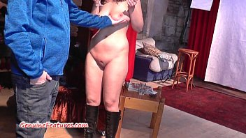 czech 24yo inexperienced displays her ample hooter-sling-stuffers at.