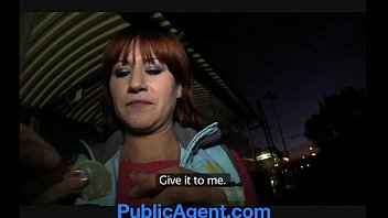 publicagent lucy gets my xxl dick in her.