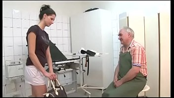 senior medic romps the youthfull patient