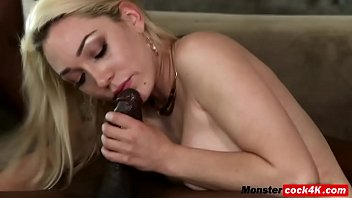 blondie cougar was all well-prepped when immense dark-hued.