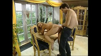 youthful light-haired brought in a country home and fucked