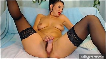 cougar with adorable booty unwraps nude and plow.