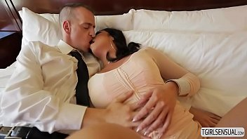 steamy she-masculine chanel santini in an rectal poking vignette